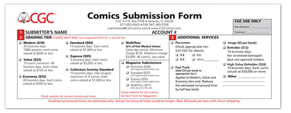 CGC Submission Form Part 1